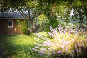 photo camping tarn avec détente et repos