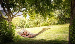 photo camping tarn avec repos et détente