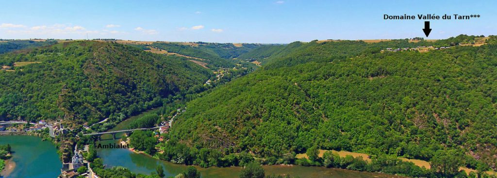 Le camping le Domaine Vallée du Tarn