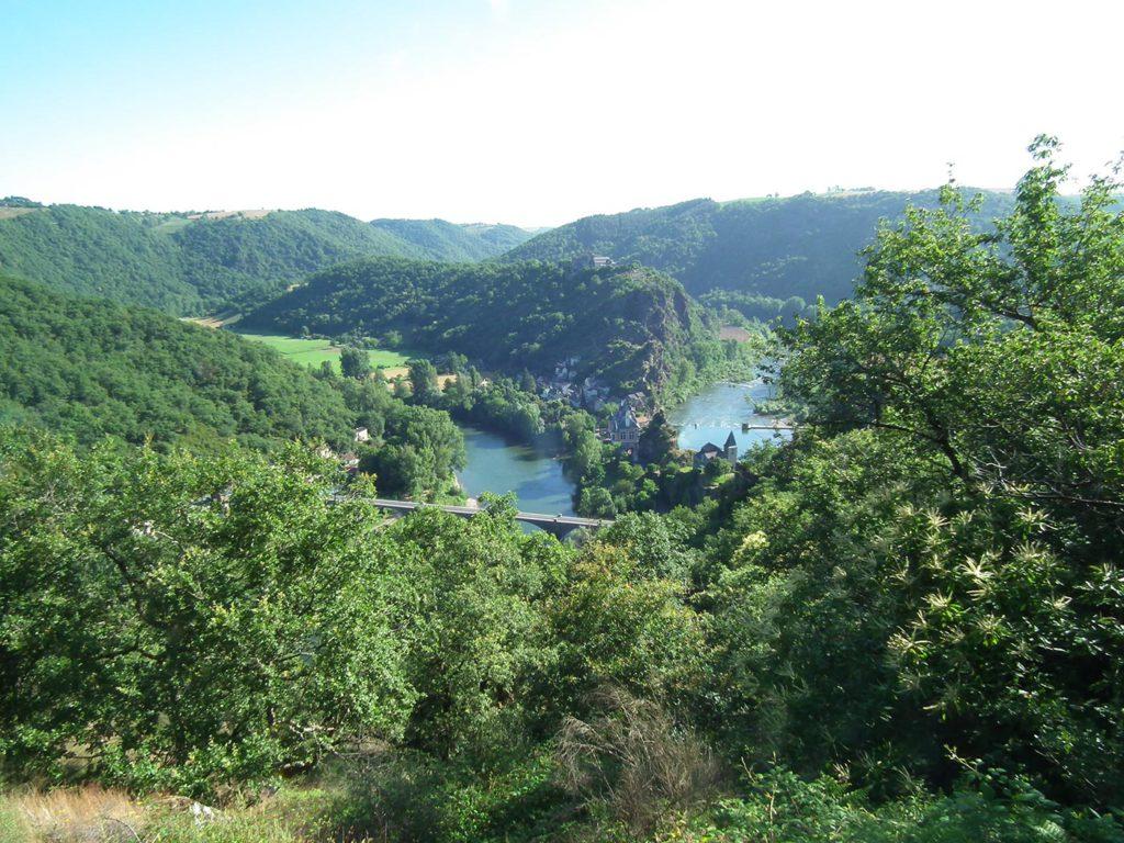 Paysages verdoyants du Tarn