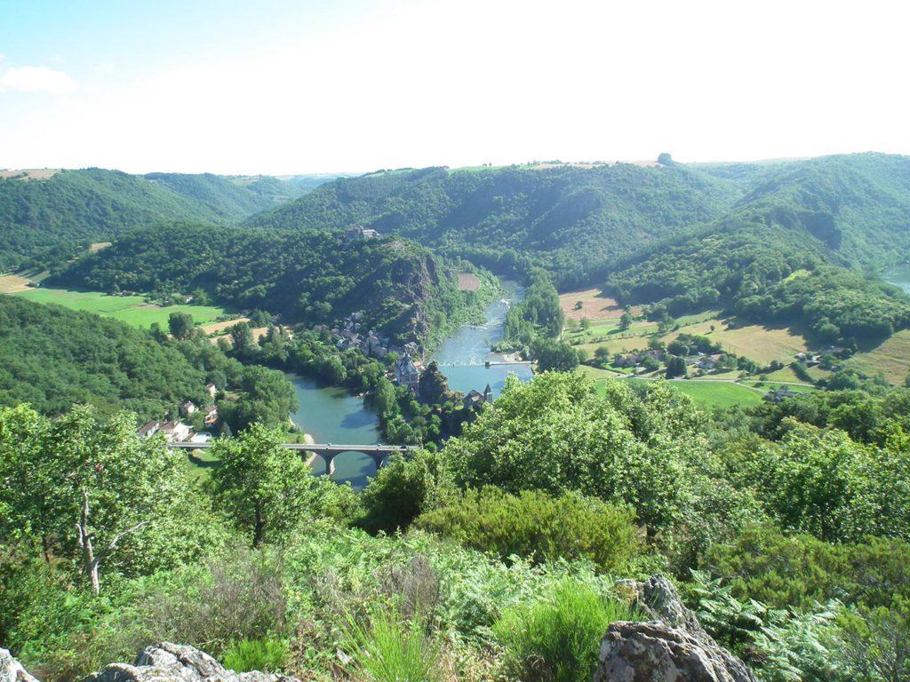 Randonnée Saint Raphael dans le Tarn
