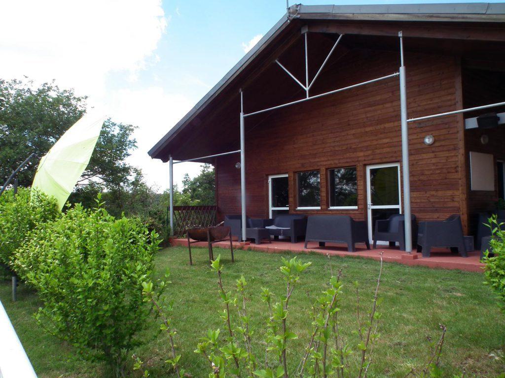 logement accueil groupe du camping dans le Tarn
