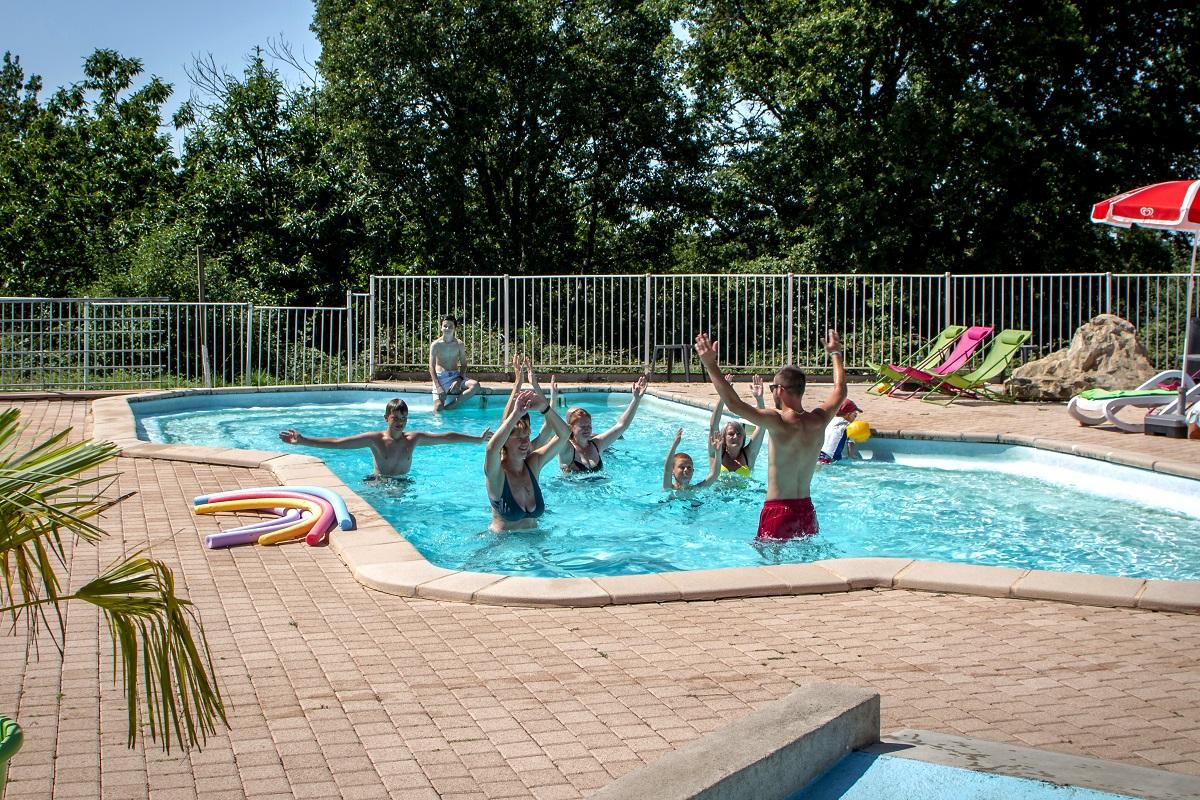 Camping Tarn avec 2 piscines et espace aquatique